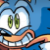 Sonic comic - Happy Sonic Icon