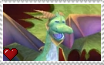 Spyro the Dragon - Cosmos Stamp by SuperMarioFan65