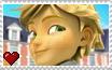 Miraculous Ladybug - Adrien Agreste Stamp by SuperMarioFan65