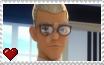 Miraculous Ladybug - Gabriel Agreste Stamp by SuperMarioFan65