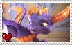 Skylanders Academy - Spyro Stamp by SuperMarioFan65