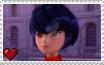 Miraculous Ladybug - Kagami Tsurugi Stamp by SuperMarioFan65