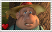 Barnyard - Farmer Stamp by SuperMarioFan65