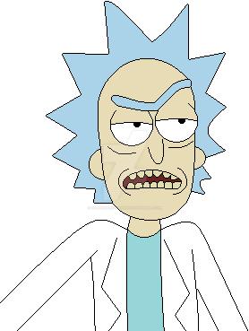 Rick and Morty - Rick Sanchez by SuperMarioFan65