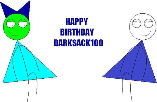 Happy Birthday darksack100 (2018)