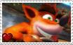 CTR Nitro-Fueled - Crash Bandicoot Stamp by SuperMarioFan65