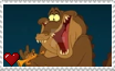 The Princess and the Frog - Louis Stamp by SuperMarioFan65