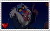 The Lion King - Rafiki Stamp by SuperMarioFan65