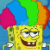 SpongeBob SquarePants - Rainbow Wig SpongeBob Icon by SuperMarioFan65