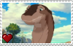The Land Before Time X - Bron Stamp by SuperMarioFan65