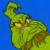 How the Grinch Stole Christmas - Mad Grinch Icon by SuperMarioFan65