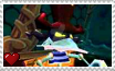 Rayman 2 The Great Escape - Razorbeard Stamp by SuperMarioFan65