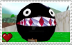 Super Mario 64 - Chain Chomp Stamp by SuperMarioFan65