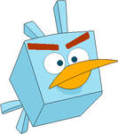 Angry Birds Space - Ice Bird (2018)