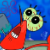 SpongeBob SquarePants - Mr. Krabs Paint Hurt Icon by SuperMarioFan65