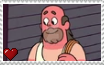 Steven Universe - Greg Universe Stamp by SuperMarioFan65