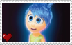 Inside Out - Joy Stamp by SuperMarioFan65