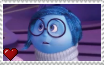 Inside Out - Sadness Stamp by SuperMarioFan65