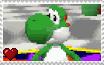 Super Mario 64 DS - Yoshi Stamp by SuperMarioFan65