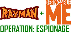 Rayman + Despicable Me: Operation: Espionage logo
