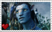 Avatar - Jake Sully Stamp by SuperMarioFan65