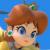 Super Smash Bros. Ultimate - Princess Daisy Icon by SuperMarioFan65