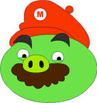 Angry Birds Friends - Mario Pig