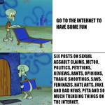 SpongeBob SquarePants - Squidward Internet Meme