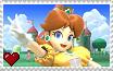 Super Smash Bros. Ultimate - Princess Daisy Stamp by SuperMarioFan65