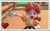 Mario Kart Tour - Princess Daisy Stamp by SuperMarioFan65