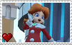 Mario Kart Tour - Daisy (Holiday Cheer) Stamp by SuperMarioFan65