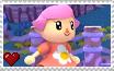 Super Smash Bros. For Wii U Female Villager Stamp