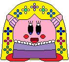 Kirby as Rapunzel