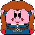 Kirby as Merida