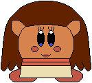 Kirby as Moana