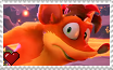 CB 4 It's About Time - Crash Bandicoot Stamp