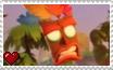 Crash Bandicoot 4 It's About Time - Aku Aku Stamp