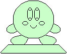 Kirby's Crystal Statue