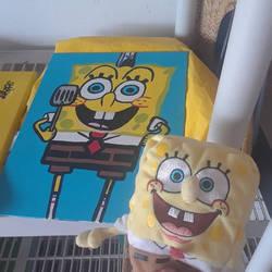 SpongeBob SquarePants - SpongeBob and his drawing