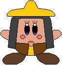 Kirby as Raya