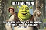 Shrek - National Film Registry Meme