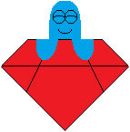 Foster's Home for IF - Bloo on a diamond