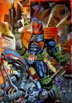 Heavy Metal Dredd -Judge Dredd
