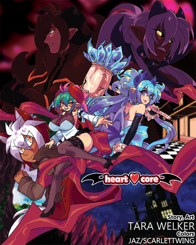 heartcore:. series cover!