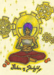 Meditation with oranges