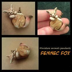 Fennec Fox necklace