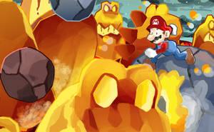 Super Mario Galaxy 2 - MoltenMonster by Retro-Robosan