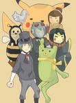 Ry-Spirits Yo Videogames Characters by Retro-Robosan