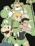 Smash 4: Mean Lean Green Team!
