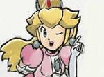 Peach - (Art Academy Nintendo 3DS) Part2